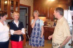 Judy, Brenda, Betsy and Dennis