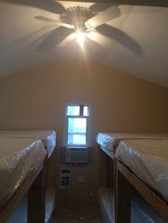 Open concept 8 double beds