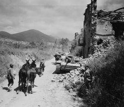 Battle in Italy.