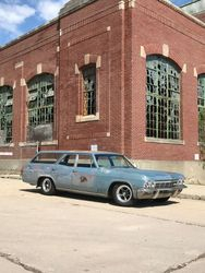 13.65 Chevrolet Biscayne station wagon,