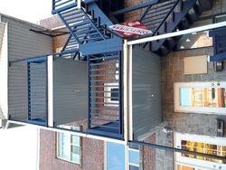 pose de soffite sous les balcons