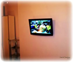 "32"" Flat Screen TV installation + Wiring job"