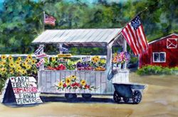 The Flower and Vegetable Cart