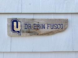 Quinnipiac University sign