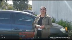 Dandenong VicRoads Pass First Time !! Well Done Smitha Sesha