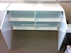 cb2 credenza storage cabinet installation service in Baltimore MD