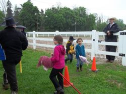 Fierce Competitiion in The Stick Horse Circut