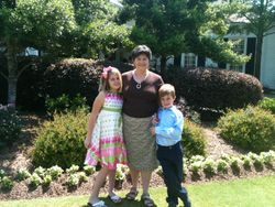 Judy with GKs Emma and Carter Herman