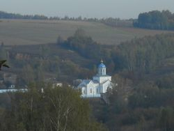 Russian Country Church