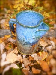River's Edge Juice or Water Pitcher ~ View 2