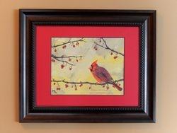 Red Cardinal, 10x8 $175