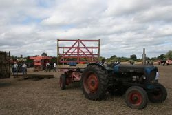 Fordson Major and trailer
