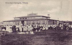 Strandpaviljongen i Viken 1920
