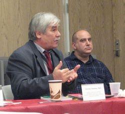 Theodor Damian (left), David Rosner