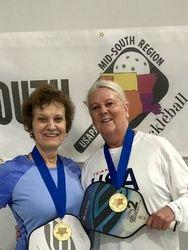 Cynthia Boudreaux & Joan Gillette.