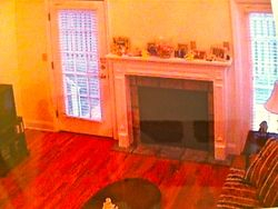 Living Room Before...