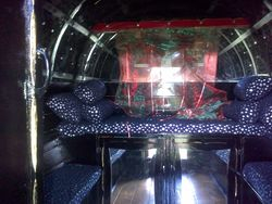 Inside Sues Mini 'Gypsy Vardo'