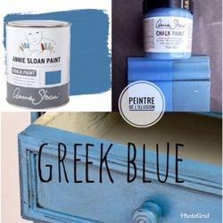 Greek Blue Chalk Paint Annie Sloan