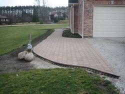 Entire Step, Landing & Sidewalk Completed