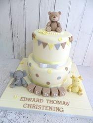 Edward's Christening Cake