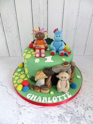 Charlotte's First Birthday Cake