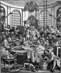 Bell after Hogarth, The Reward of Cruelty, 1750, woodcut
