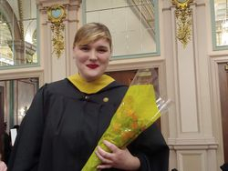 Daughter Grace gets her Masters in Social Work