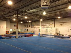 Floor Area and Tumble Track