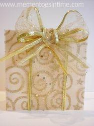 Glitter Gift Card