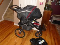 Graco Travel System with Jogger Fast Action Stroller - $170