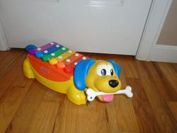 Fisher Price Toddlin' Tunes Puppy Xylophone - $20