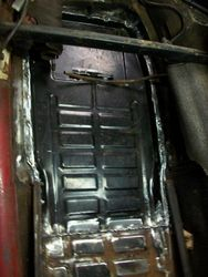 Battery Tray replacement