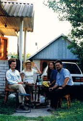 Our Dacha in Raubichi, Belarus, 1995
