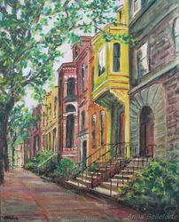 Streets: Brownstones of NY