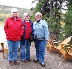 Girlfriends in Alaska, Sept. 2010
