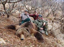 Jerry and his Kodiak Brown Bear