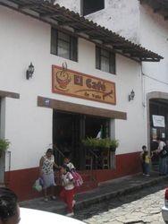 El Cafe in Valle de Bravo, Mexico State