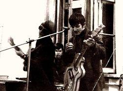 My First Band in Minsk, Brlarus, 1971.