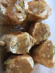 Chicken Rolled with Stuffing