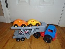 Play Car Carrier with Cars - $8