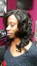 Closure sew in