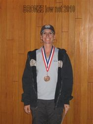 Kim Mundson- Bronze flight, Low Net 2010