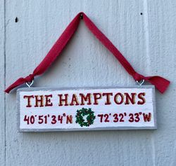 Vacation Home Holiday Ornament