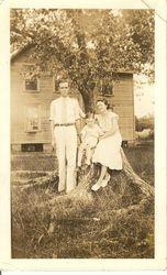 HL Raburn and Margaret Ainsley Raburn with HL Jr