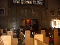 Side Altar - The Divine Mercy