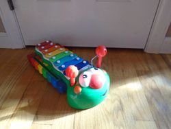 Little Tikes Bug Caterpillar 2-in-1 Piano/Xylophone - $12