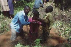 Baptism in Ogembo Kenya