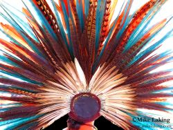 Mexican Feather Head Dress