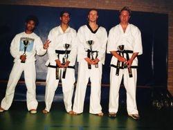 Taekwondo wedstrijd