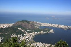 View from Corcovado, Rio